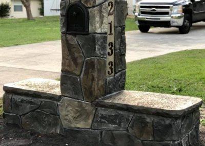 Artisan Stone Creations - Mailbox