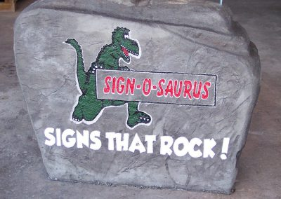 Artisan Stone Creations - Completed Sign