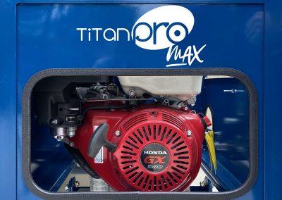 Titan Pro MAX Hydraulic Mixer - Honda GX340 Engine